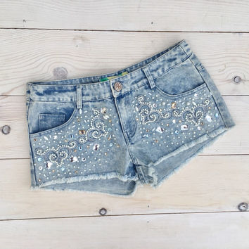 Sweet Baby Blues Shorts: Denim