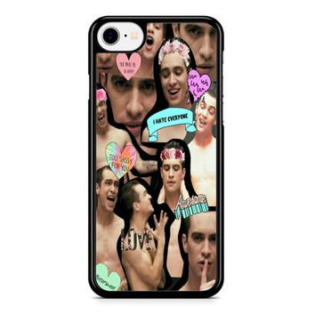 Brendon Urie Collage 2 iPhone 8 Case