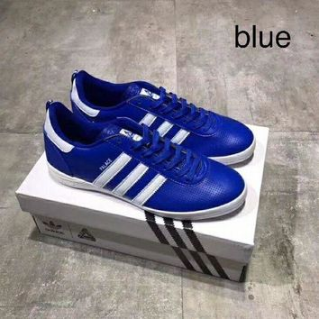 LMFXF7 Adidas Palace Indoor leather punching casual shoes!