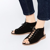 ASOS ARCHIE Suede Lace Up Boots