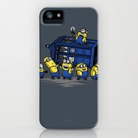 The Minions Have The Phone Box iPhone & iPod Case by Onebluebird