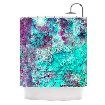 "Sylvia Cook ""Think Outside the Box"" Shower Curtain"
