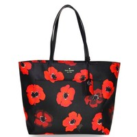 Hot Sale Kate Spade Women Flower Black Handbag