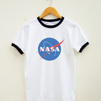 Nasa Tshirt Tumblr Funny Shirt Teen Gifts Shirt Instagram Graphic Shirt Unisex Shirt Women Shirt Men Shirt Ringer Shirt Short Sleeve Shirt