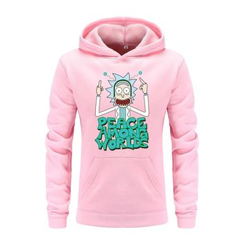 Rick And Morty Hoodies Fitness Clothes Hoody Cotton Hoodie Sweatshirts
