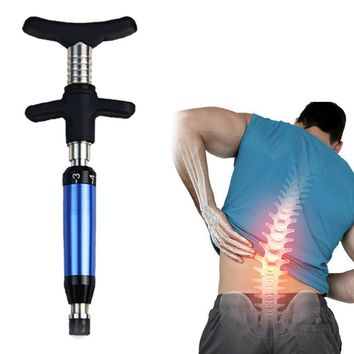 Powerful Chiropractic Adjusting Tool Therapy Spine impulse Activator Adjuster Therapy Tools 6 Level Correction gun