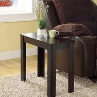 I 3111 Cappuccino Accent Side Table