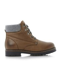 BERTIE LADIES PODRICK - Cleated Sole Hiking Boot - brown | Dune Shoes Online
