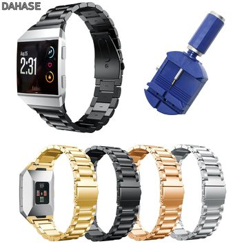 Stainless Steel Strap for Fitbit Ionic Band Metal Replacement Wristband for Fitbit Ionic Smart Watch