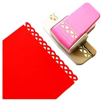 free shipping 1PC new fancy border punch foam paper embossing punch scrapbook Edge craft punch scrapbook punches for paper cut
