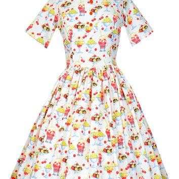 Kim Dress in Sundae Best Print