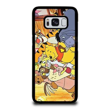 WINNIE THE POOH AND FRIENDS Disney Samsung Galaxy S3 S4 S5 S6 S7 Edge S8 Plus, Note 3 4 5 8 Case Cover