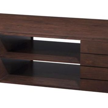 Ed Modern Coffee Table in Vintage Walnut