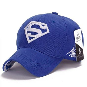 PEAPON NEW Brand SUPERMAN Polo Snapback Mens Golf Baseball Caps Women Fitted Adjustable Hat G