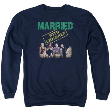 Married With Children - Vintage Bundys Adult Crewneck Sweatshirt