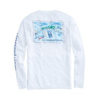Long-Sleeve Greetings From vv Pocket T-Shirt