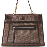 Runaway large mesh and leather bag | Fendi | MATCHESFASHION.COM UK