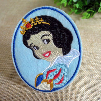 Snow White Princess Iron on Patch 68-HA