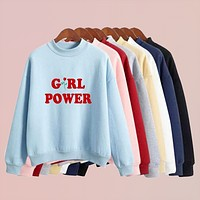 """Girl Power"" Pullover"