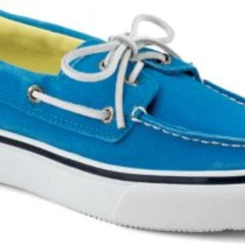 Sperry Top-Sider Bahama Salt Washed 2-Eye Boat Shoe BlueSaltWashedCanvas, Size 11M  Men's Shoes