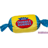 Big Plush Dubble Bubble Gum Candy Pillow | CandyWarehouse.com Online Candy Store