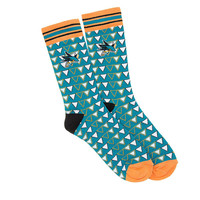San Jose Sharks NHL Stylish Socks (1 Pair) (S-M)