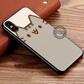 Pusheen Cat Cute Vector iPhone X 8 7 Plus 6s Cases Samsung Galaxy S8 Plus S7 edge NOTE 8 Covers #iphoneX #SamsungS8