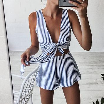 Striped Sara Set