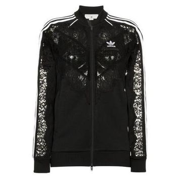 Black Lace Adidas Jacket by Stella McCartney