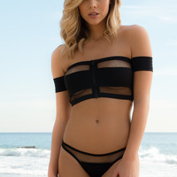 Skye & Staghorn - Noir Tube Top | Black