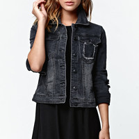 Rusty Key Ripped Denim Jacket at PacSun.com