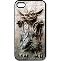 Star wars Master Yoda in Carbonite Custom Case Cover Custom For iPhone 4 4s 5 5s 5c 6 6 Plus Protective Durable Case