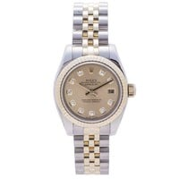 Rolex Datejust Automatic Self Wind Womens Watch 179173 (certified Pre Owned)