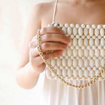 vintage beaded purse 'lula'