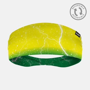 Lightning Yellow Green Headband