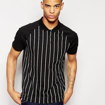 ASOS Stripe Polo Shirt
