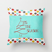 Tis the Season Throw Pillow by Brandy Coleman Ford