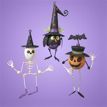 12 Halloween Decorations - Three Different Styles
