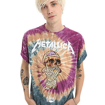 Metallica One Tie Dye T-Shirt