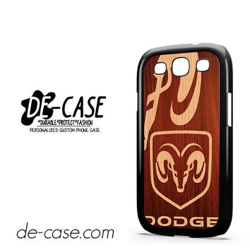 Dodge Wood For Samsung Galaxy S3 Case Phone Case Gift Present YO