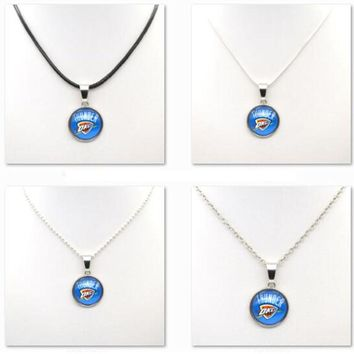 Necklaces & Pendants Oklahoma City Thunder Charms Women Necklace Basketball Fans Gifts Party Birthday Fashion 2017
