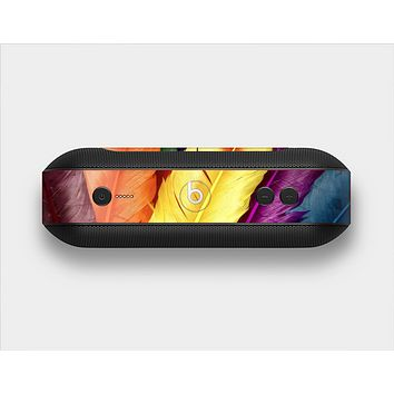 The Hd Color Feathers Skin Set for the Beats Pill Plus