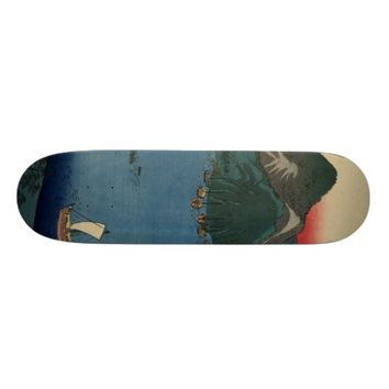 Japanese Woodcut #1 Skateboard Deck
