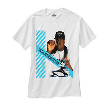 Shaq Attaq 92 white tee
