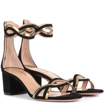 Moon Ray 50 suede sandals