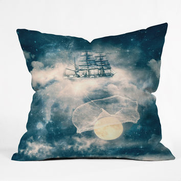 Belle13 I Am Gonna Bring You The Moon Throw Pillow