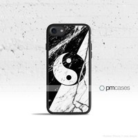 Marble Yin Yang Case Cover for Apple iPhone & iPod Touch