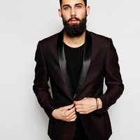 New Look Blazer With Contrast Lapel