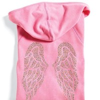 Victoria's Secret Supermodel Angel Bling Wings Hoodie Yellow XS