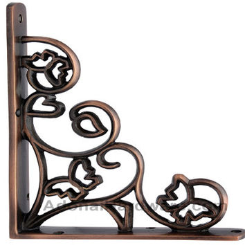 Hallelujah Brass Shelf Bracket